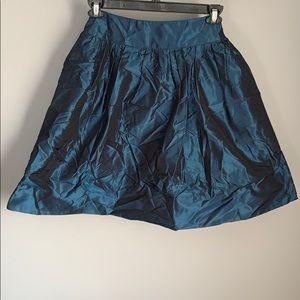 Rickie Freeman Ladies Blue Flared Skirt